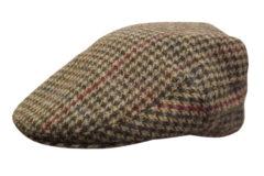 Wiltshire Houndstooth Wool Tweed Cheesecutter-2